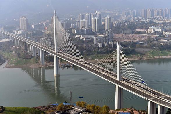 重庆双碑嘉陵江大桥竣工即将通车