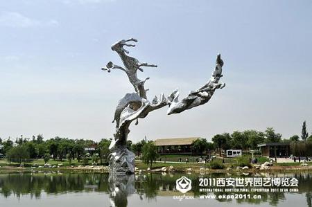 2011西安世园会重要雕塑及艺术品