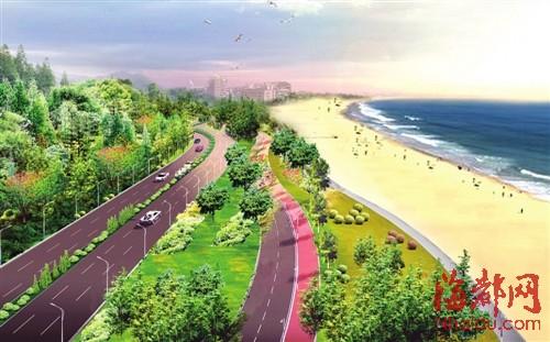环岛路:岚岛最美风景线 总长约100公里(图)