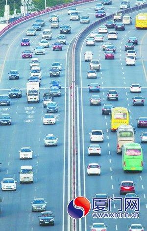 厦门将迈入百万汽车时代 未来可通过微信平台缴费等