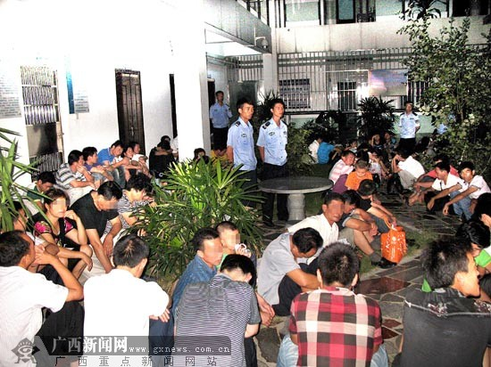 柳州全面打击非法传销活动 设防从车站开始(图
