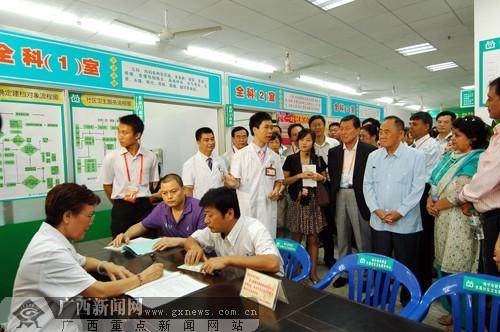 综合稿件 亚洲政党专题会议嘉宾在南宁实地考察