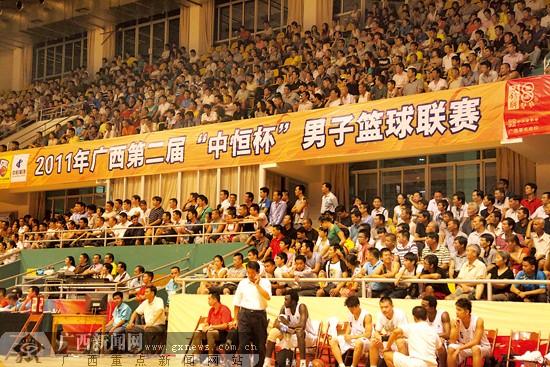 广西篮球联赛落幕海联队夺冠 职业球员放光芒(图)- 中国日报网