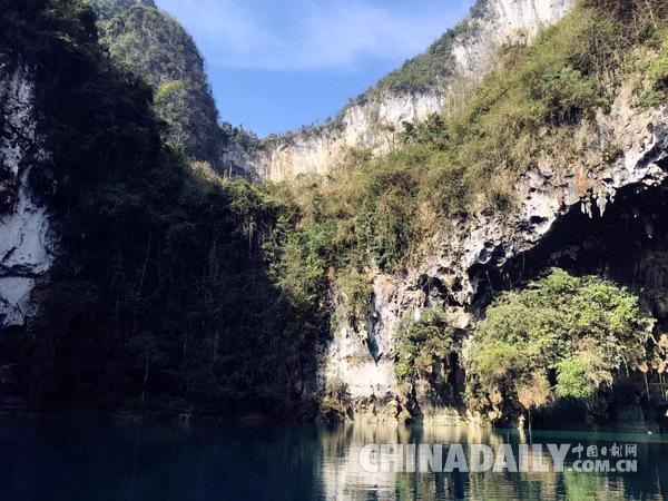 华南地区 广西 广西旅游  三门海生态旅游区位于广西壮族自治区西北部