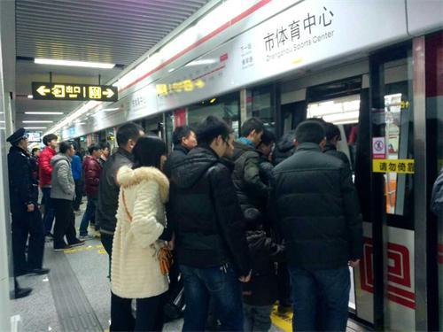 地铁一号线顺利开通 郑州正式跨入地铁新时代