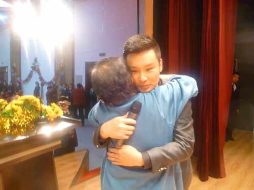 刘和刚愿做孝顺典范 担纲安康 形象 大使
