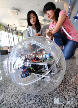 大学生机械创新设计获奖作品校园展示