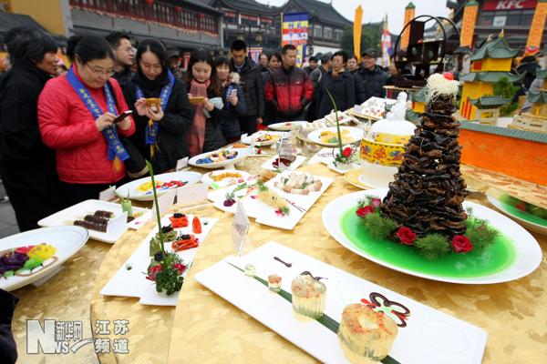 无锡南禅寺举办素食文化节