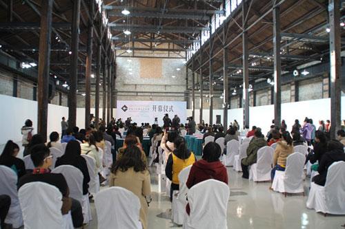 中国当代陶瓷艺术展在南通开幕