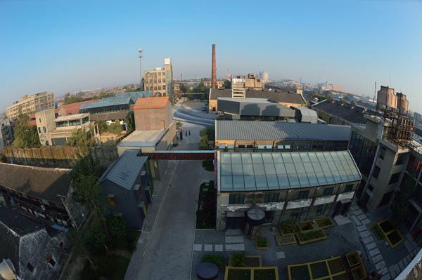 昔日的大达公电机碾米公司  唐闸,旧称唐家闸,位于江苏省南通市
