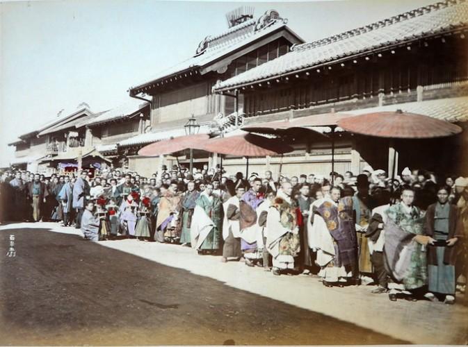 19世纪的日本写真