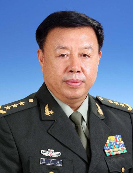 中国共产党中央军事委员会副主席范长龙简历