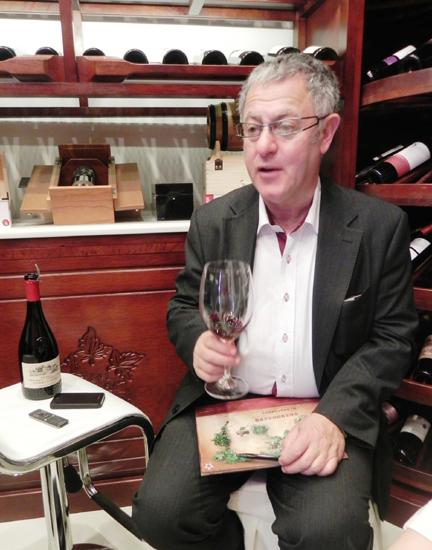 法国ADViNi酒业品牌大使弗洛谈与张裕的合作