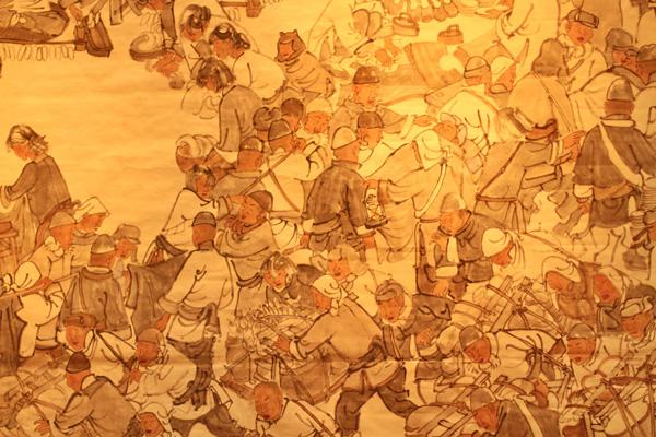 第十届中国艺术节99全国优秀美术作品展开幕图片