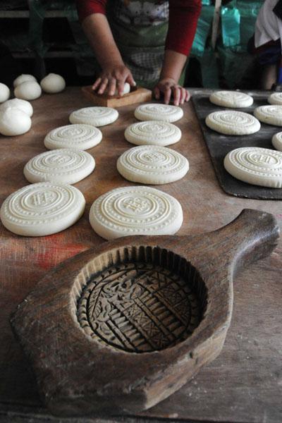 手工制作月饼模具图片