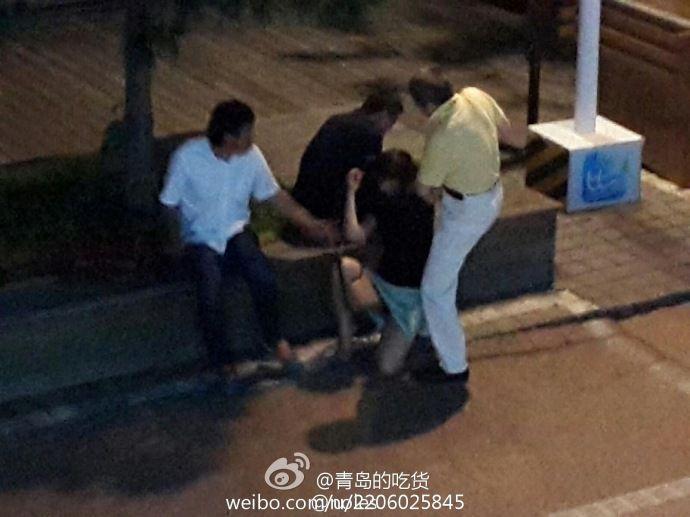 网传青岛醉酒女子疑遭路过3男子轮流猥亵