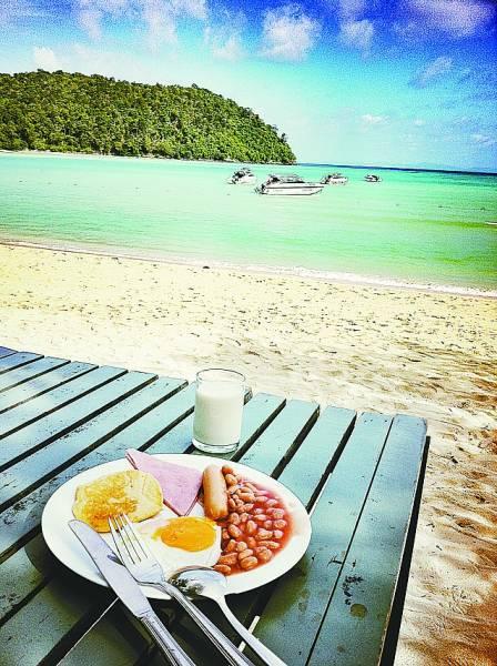 泰国皮皮岛 让我心中只有宁静