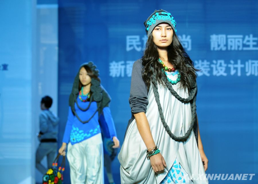 加速建设一支服装设计人才队伍,扩大新疆自主品牌服装服饰的影响力.