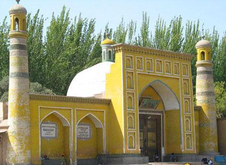 艾提尕尔最大的清真寺