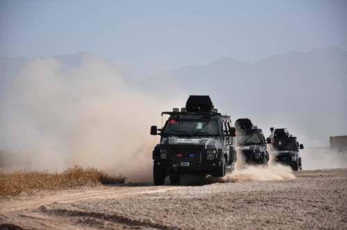 新疆喀什特警全面提升反恐维稳打击能力