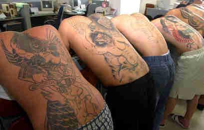 Korean Tattoos for Men