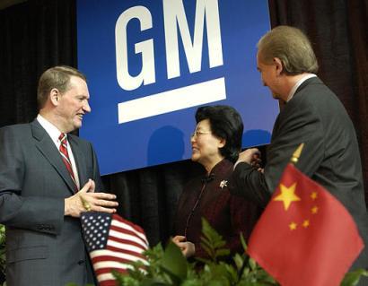 GM expanding China.