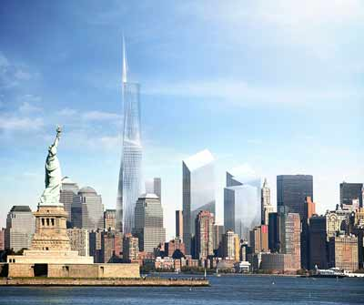New Tower Design For Wtc Site Unveiled