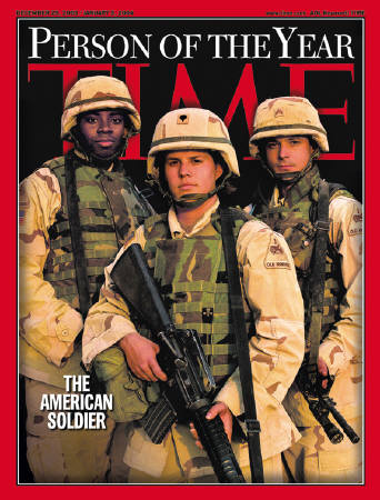 Time names US soldier as 'Person of the Year'