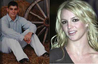 US Pop Star Britney Spears Right Was Married To Childhood Friend Jason Allen Alexander Left Saturday Jan 3 2004 In Las Vegas The