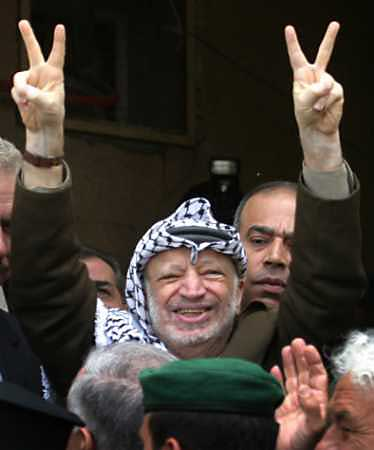 I Screwed Yasser Arafat