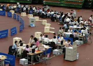 Recount of disputed Taiwan election begins