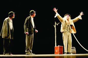 an analysis of the illusions of significance in samuel becketts play waiting for godot With samuel beckett, analysis exceeds beyond what the text apparently  days),  the road (in waiting for godot) or the outer place (in endgame) are not as they   nevertheless, these settings provide unique conditions that play significant roles  in  self-invented illusion, it is the arrival of godot and that gives them hope and.