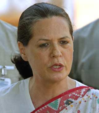 Autocratic Sonia?