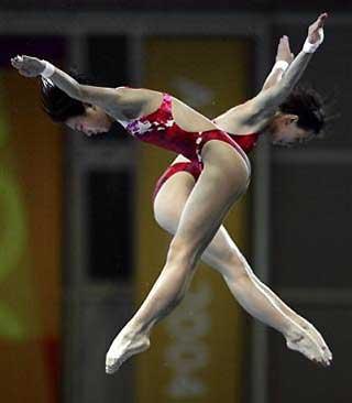 Women's Olympic Diving Platform