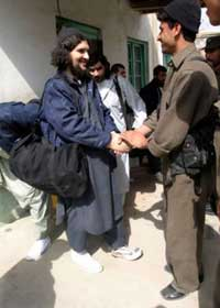 Abdullah Mehsud following his release from Guantanamo (2004)