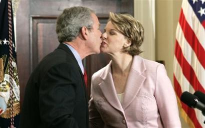 George bush sex