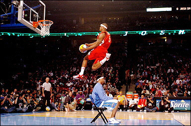 lebron james dunk contest
