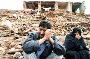earthquake in iran in 2005: