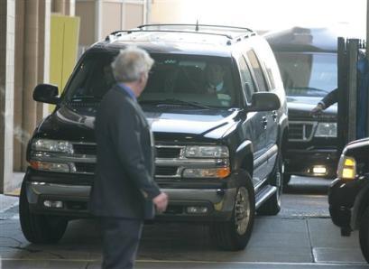Former US president Clinton leaves hospital