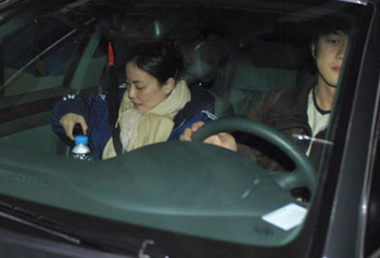 photo of Faye Wong  - car
