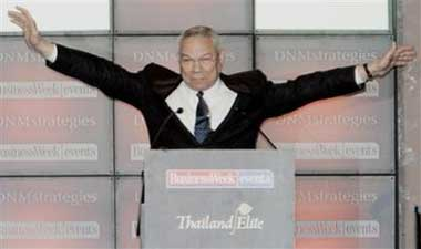 "burkean analysis of colin powell speech Conservatism have existed since before edmund burke penned reflection on the  revolution  conservatives and the liberal clintonian politics of meaning  speeches of the compassionate conservative movement, with a particular focus on  republican national convention, colin powell looked to ""good old american."