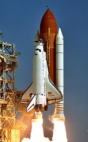 Space shuttle Discover...