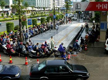 China Gas line