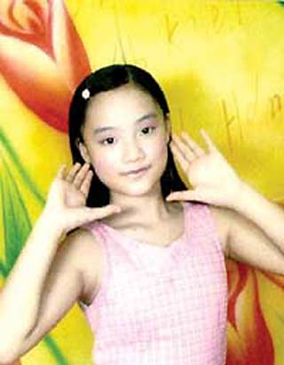 Zen Yi, a 16-year-old girl from central China's Hunan Province dies of