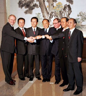sixparty talks Launched in 2003, the six party talks are aimed at ending north korea's nuclear  program through negotiations involving china, the united.