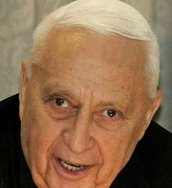 ariel sharon curse death