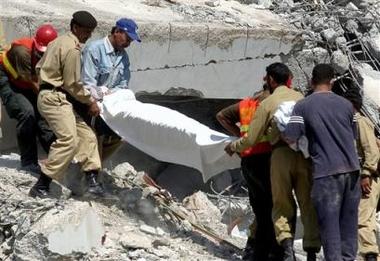 Asian quake death toll