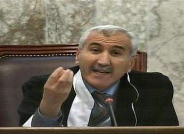 Rizgar Mohammed Amin Saddams judge is longtime Kurdish lawyer