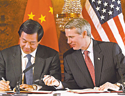Us China Reach Agreement On Textile Clothing