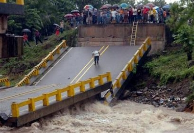 Tropical storm Gamma weakens after lashing Honduras